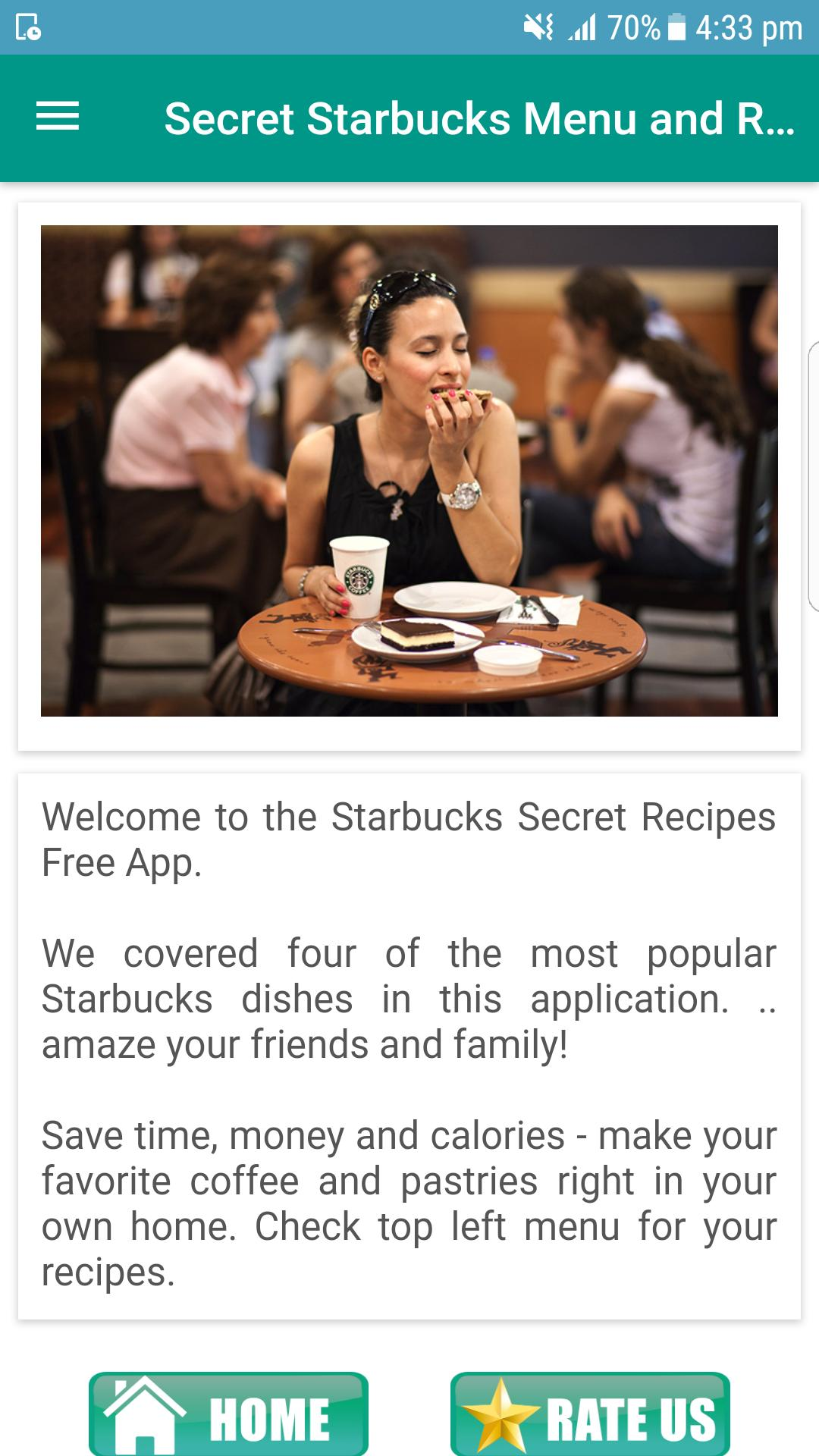 Secret Starbucks Menu and Recipes for Android - APK Download
