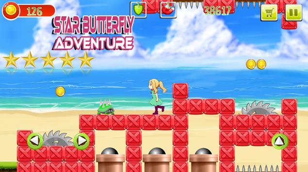 Star Butterfly Adventure Game screenshot 1