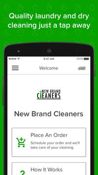 New Brand Cleaners poster