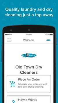 Old Town Dry Cleaners poster