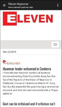 Myanmar News screenshot 3