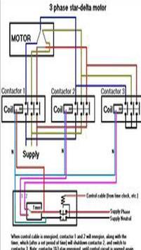 Star Delta Starter Control Diagram Electrical screenshot 2