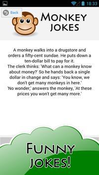 Jokester - Funny Monkey Jokes apk screenshot