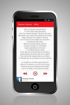 romeo santos mix screenshot 3