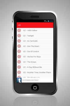 U2 Songs for Android - APK Download