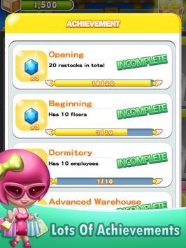 Happy Mall: Sim Building Game apk screenshot