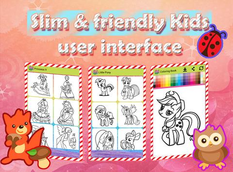 Starfall Girls Coloring Book for Android - APK Download