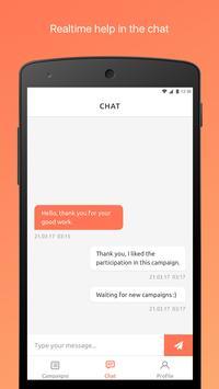 Starfish - Micro Influencers Marketing apk screenshot