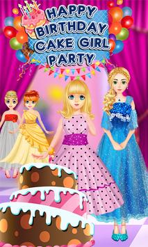cute girl birthday celebration party girl games for android apk