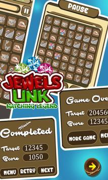 Jewels Link Matching Legend - Jewels Mania screenshot 2
