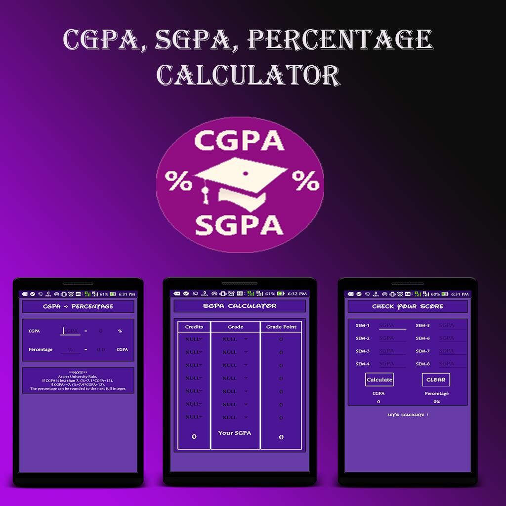 CGPA, SGPA, Percentage Calculator for Android - APK Download
