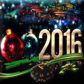 NEW YEAR LIVE WALLPAPER 2016 icon