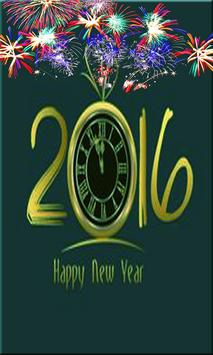 NEW YEAR LIVE WALLPAPER 2016 apk screenshot