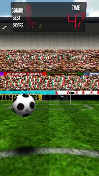 Kickstyle3D - Soccer Game poster