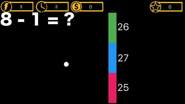 MathsBall apk screenshot