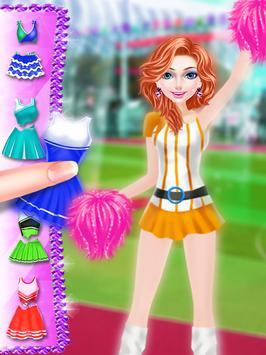 Cheerleader Star Makeover Salon : Indian Cricket poster