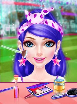 Cheerleader Star Makeover Salon : Indian Cricket screenshot 1