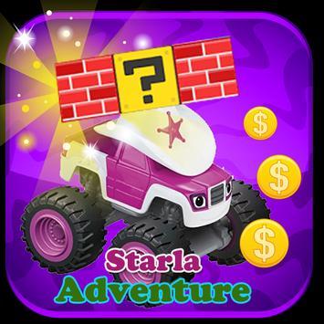 Starla Adventure Blaze poster