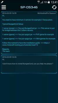 McHosting Pro apk screenshot
