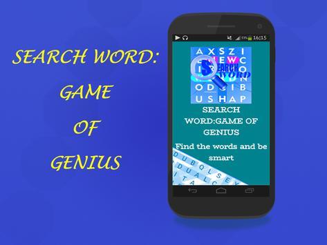 Search Word:game of genius screenshot 1