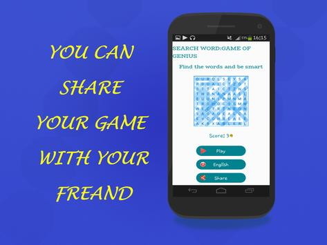 Search Word:game of genius screenshot 2