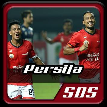 Lagu Persija Jakarta Go Persija poster