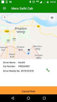 Mera Sathi Cab screenshot 3