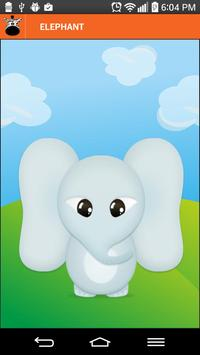 Animal sounds for toddlers apk screenshot