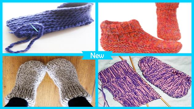 Easy Knitted Slipper Pattern For Android Apk Download
