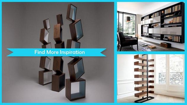 Modern Bookshelves Designs screenshot 1