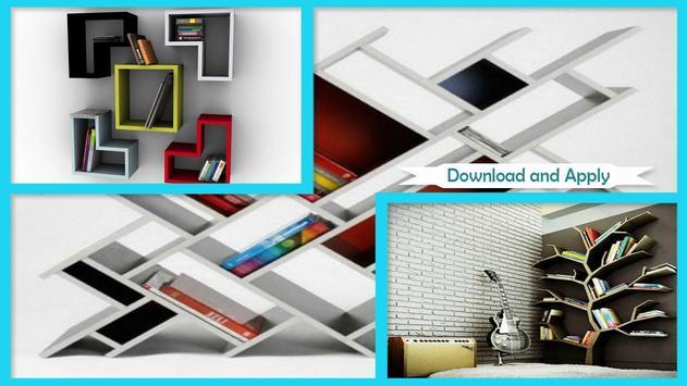 Modern Bookshelves Designs screenshot 2