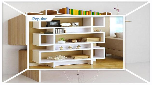 Modern Bookshelves Designs screenshot 4