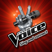 The Voice, sing and connect icon