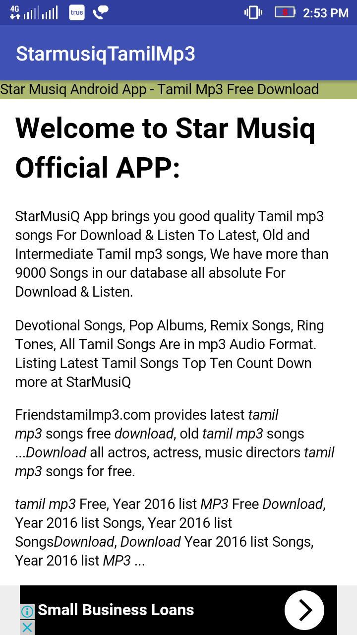 tamil love album songs free download starmusiq