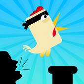 Scream Ninja Chicken Go icon