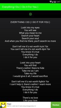 Best Songs Bryan Adams screenshot 2