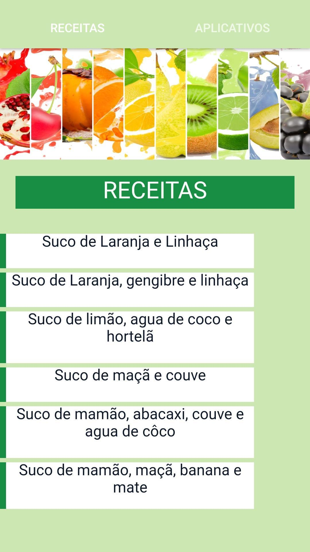 Sucos Detox For Android Apk Download