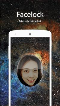 Starry sky Facelock Theme poster