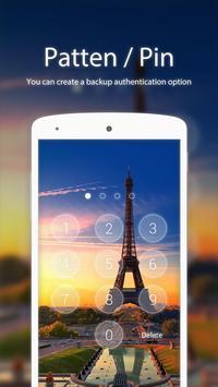Eiffel Tower Theme for XLocker screenshot 1