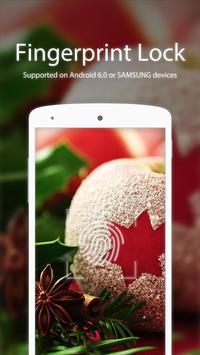 Christmas Apple Applock theme poster