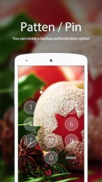 Christmas Apple Applock theme screenshot 1
