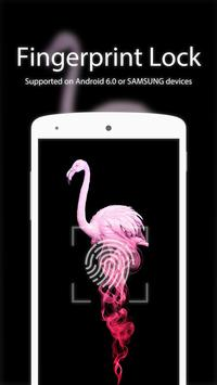 FlamingoTheme with PIN/Pattent poster