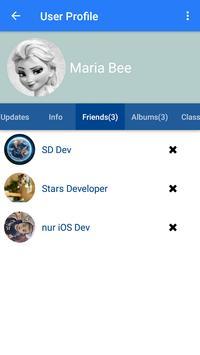 Stars Social Net screenshot 3