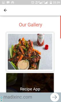 Chiken Wings Quick Recipes apk screenshot