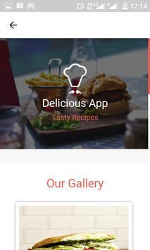 Panini Quick Recipes apk screenshot