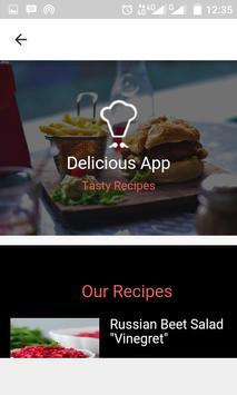 Russian Quick Recipes apk screenshot