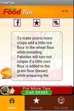 Food Tips apk screenshot