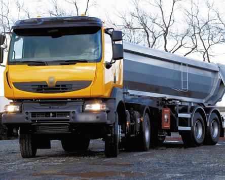 Wallpaper Renault Kerax Truck apk screenshot