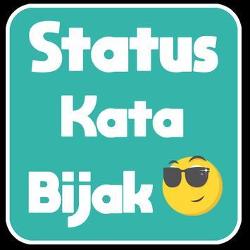 Status Kata Bijak poster