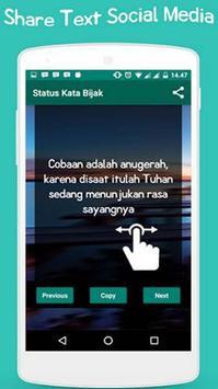 Status Kata Bijak apk screenshot